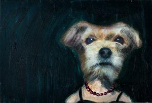 Peter Bosshart, Ruth, 2008, Öl/Lw, 30 x 40 cm