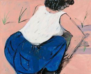 Peter Bosshart, Frühling, 2008, Öl/Lw, 125 x 155 cm