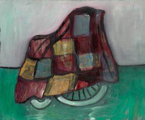 Peter Bosshart, Gefährte, 2013, Öl/Lw, 120 x 145 cm