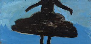 Peter Bosshart, Tanzende, 2012, Öl/Lw, 50 x 100 cm