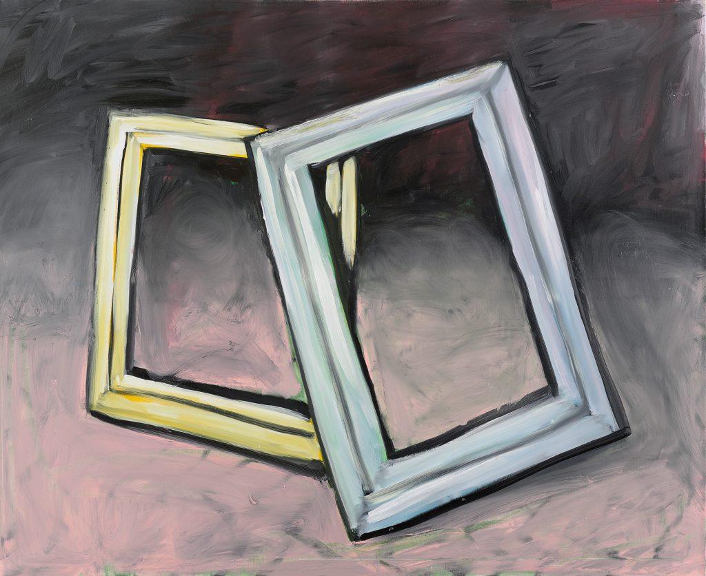 Peter Bosshart,Titellose, 2010, Öl/Lw, 120 x 150 cm