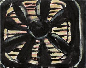 Peter Bosshart, Ventilator, 2009, Öl/Lw, 25 x 30 cm