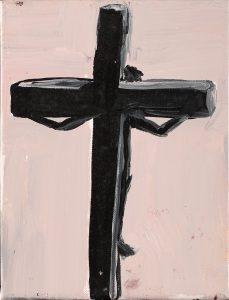 Peter Bosshart, Ohne Titel, 2008, Öl/Lw, 24 x 18 cm