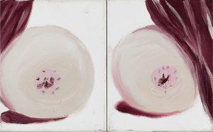Peter Bosshart, Zauberei, 2008, Öl/Lw, 25 x 40 cm