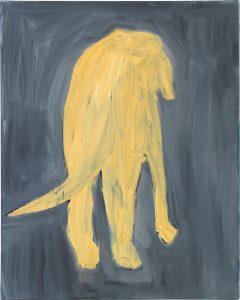 Peter Bosshart, Elvis, 2015, Öl/Lw,100 x 60 cm