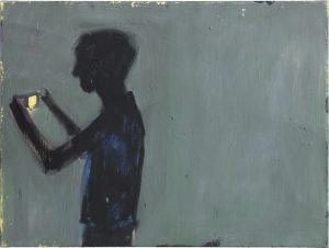 Peter Bosshart, Im Bild, 2012/13, Öl/Lw, 60 x 80 cm
