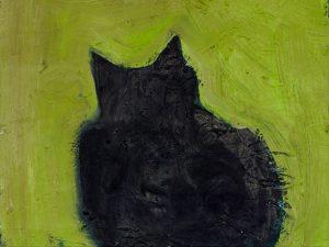 Peter Bosshart, Gupf, 2009, Öl/Lw, 40 x 50 cm