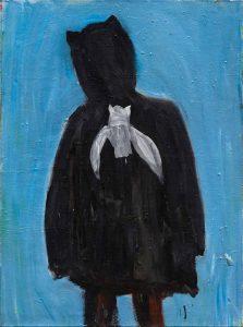 Peter Bosshart, Batman, 2014, Öl/Lw, 130 x 100 cm