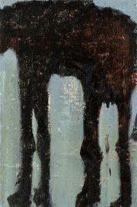 Peter Bosshart, Im Ruhestand, 2020, Öl/Lw, 60 x 40 cm