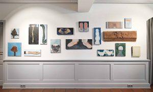Grosse Wand, 2018, Stapflehus, Weil am Rhein, Ausstellungsansicht