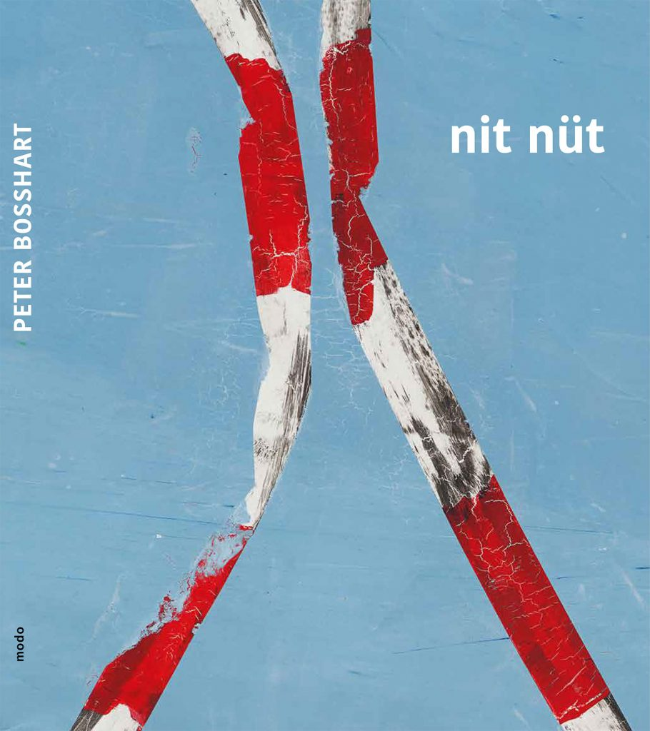 Peter Bosshart, Katalog, nit nüt, 2020